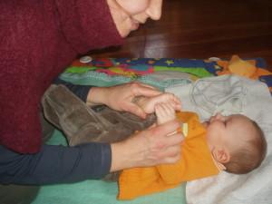 Lezione individuale con i bimbi